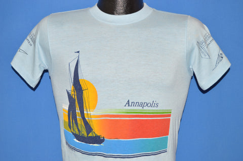 80s Annapolis Maryland Sailboat Tourist t-shirt Youth Large