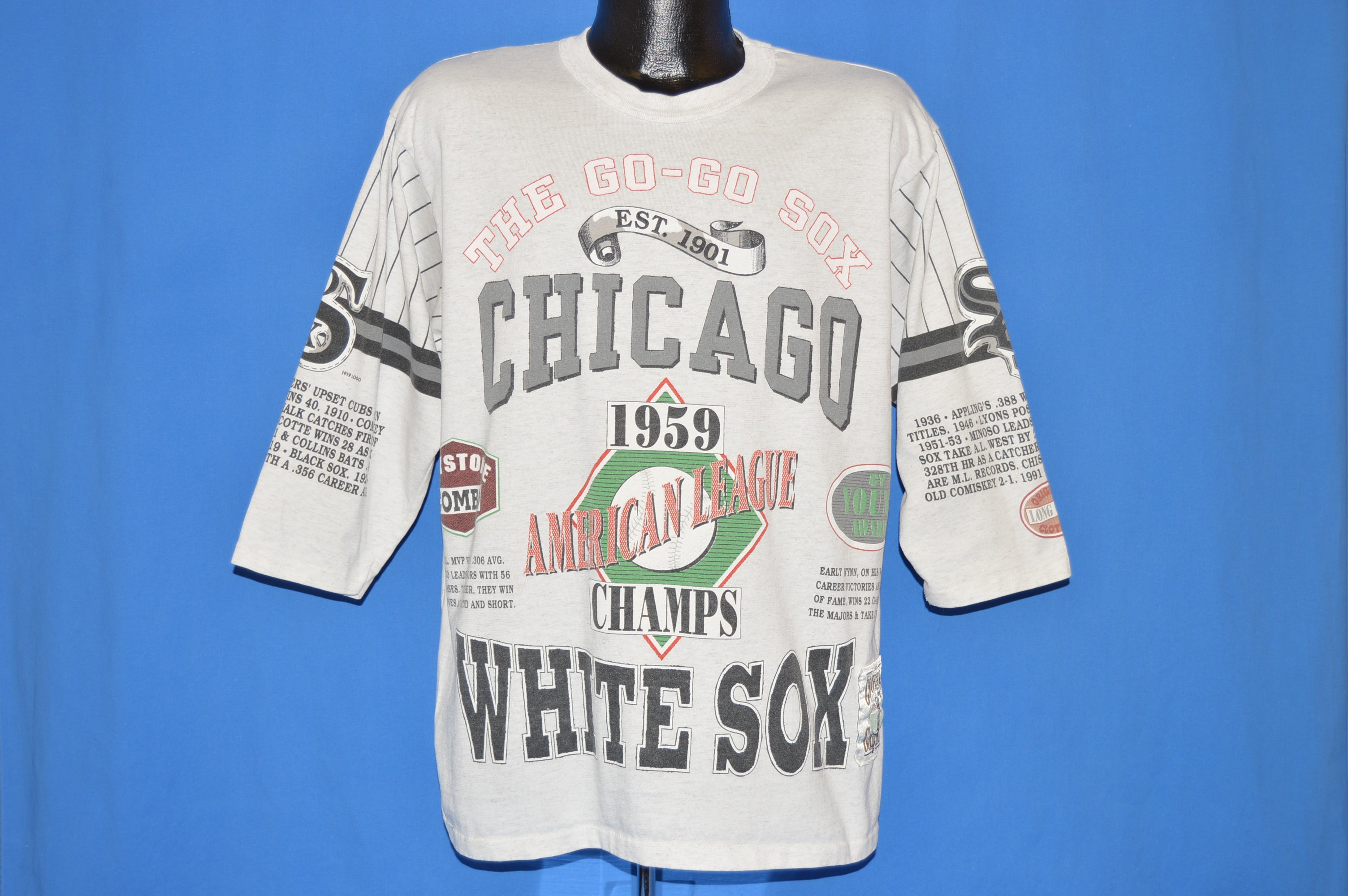 huge discount 647a9 1c995 90s Chicago White Sox 1959 American Champs t-shirt Large ...