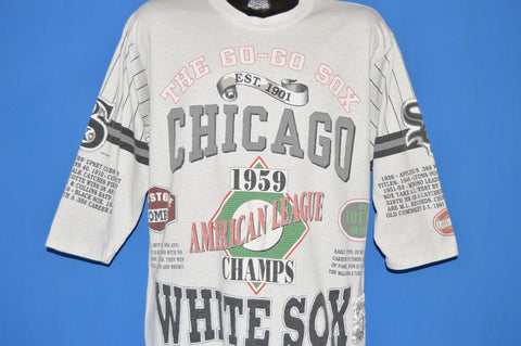 90s Chicago White Sox 1959 American Champs t-shirt Large