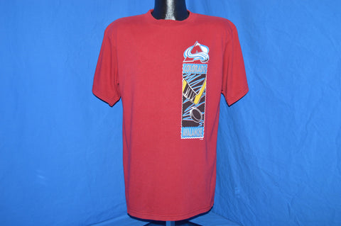 90s Colorado Avalanche Two-Sided t-shirt Large