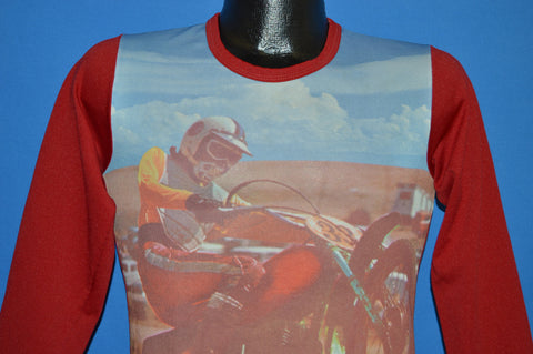 70s Dirtbike Motocross t-shirt Youth Large