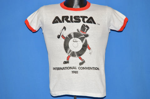 80s Arista Records Convention 1981 t-shirt Youth Large