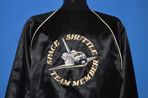 80s NASA Space Shuttle Team Member Jacket Extra Large