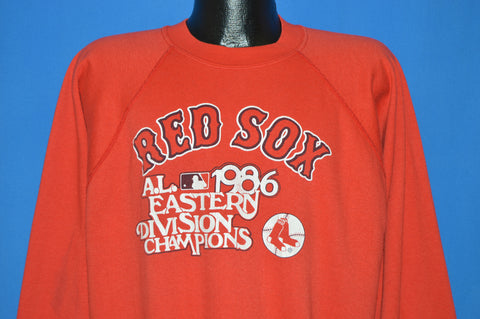80s Boston Red Sox 1986 World Series Sweatshirt Extra Large