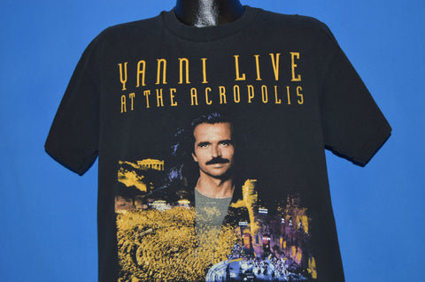80s Yanni Live 1995 World Tour t-shirt Large