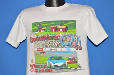 90s NASCAR Budweiser At The Glen 1990 t-shirt Medium