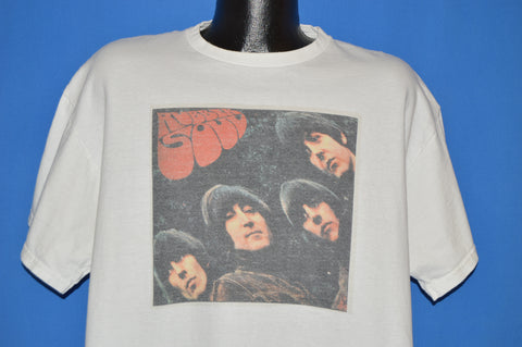90s The Beatles Rubber Soul Album Cover t-shirt Extra Large
