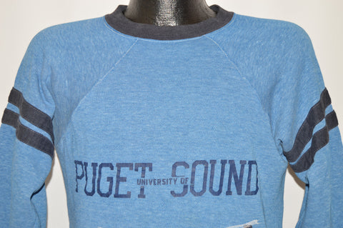 70s University of Puget Sound Loggers Sweatshirt Small
