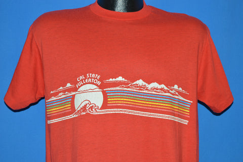 80s Cal State Fullerton College Tourist t-shirt Large