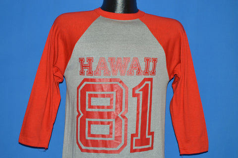 80s Hawaii 1981 Jersey Style t-shirt Small