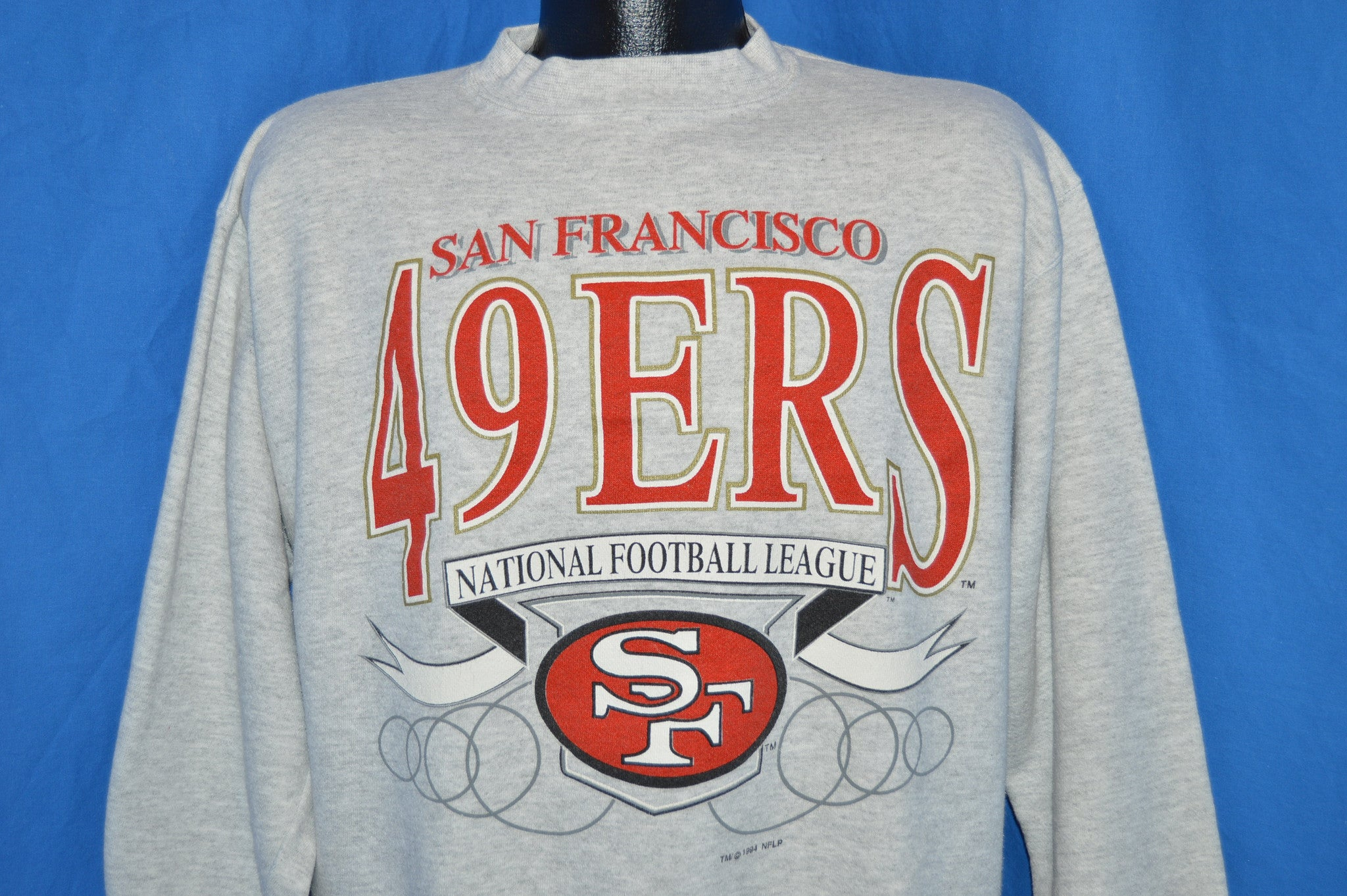 90s San Francisco 49ers Sweatshirt Large - The Captains Vintage 945442473
