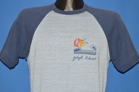 80s Jekyll Island Georgia Tourist t-shirt Medium