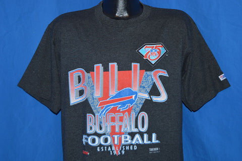 90s Buffalo Bills 75th Anniversary t-shirt Extra Large