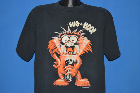 80s Bug A Boo Glow In The Dark Monster t-shirt Extra Large