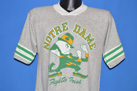 80s Notre Dame Fighting Irish Jersey t-shirt Medium