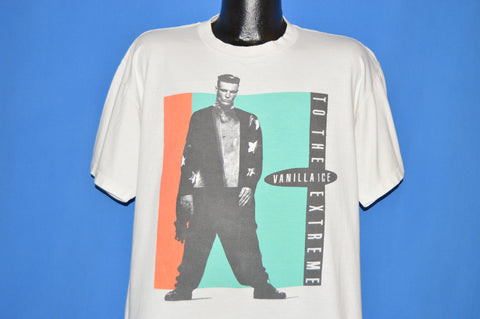 90s Vanilla Ice To The Extreme Original t-shirt Extra Large