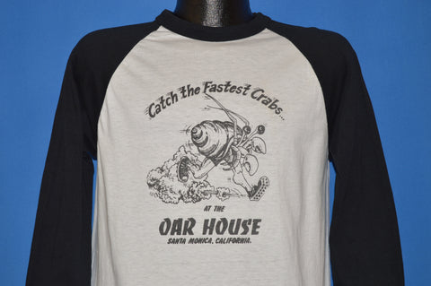 80s Catch The Fastest Crabs At The Oar House t-shirt Medium