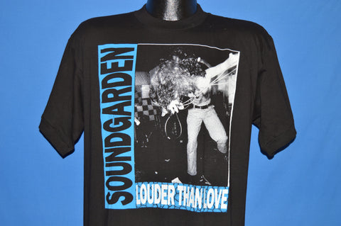 90s Soundgarden 1990 Louder Than Love Tour Europe t-shirt Large
