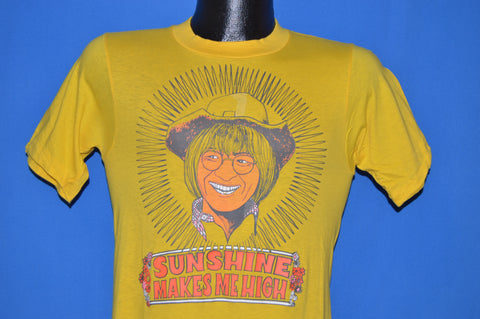 70s John Denver Sunshine Makes Me Happy t-shirt Extra Small