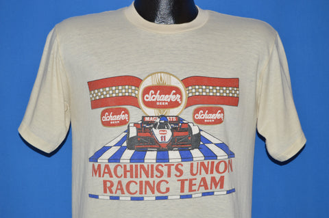 80s Schaefer Beer Machinists Union t-shirt Medium
