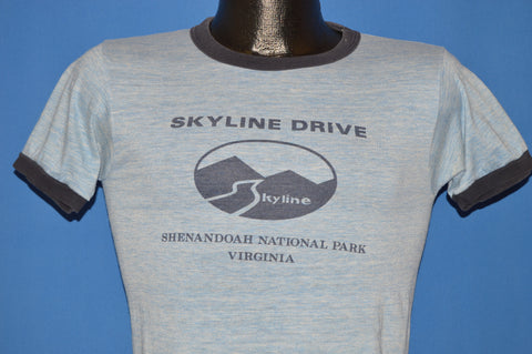70s Skyline Drive Shenandoah National Park t-shirt Extra Small