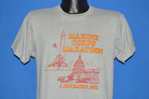 80s Marine Corps Marathon 1981 t-shirt Medium