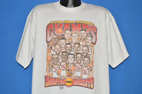 90s Houston Rockets 1994 NBA Champ t-shirt Extra Large