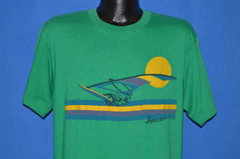 80s Hawaii Windsurfing Tourist t-shirt Large