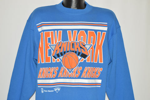 80s New York Knicks NBA Sweatshirt Large