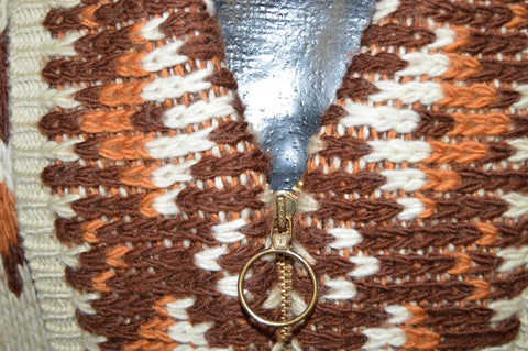 70s Pendleton Tribal Shawl Collar Western Wear Cardigan Large