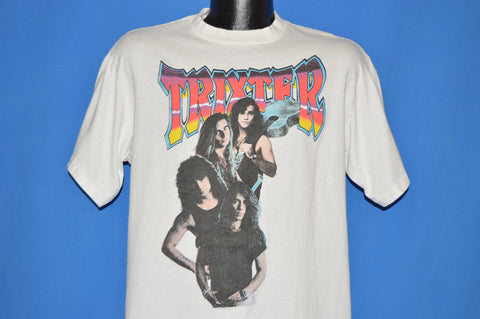90s Trixter Hard Rock World Tour 1991 t-shirt Large