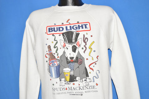 80s Spuds Mackenzie Party Animal Sweatshirt Large