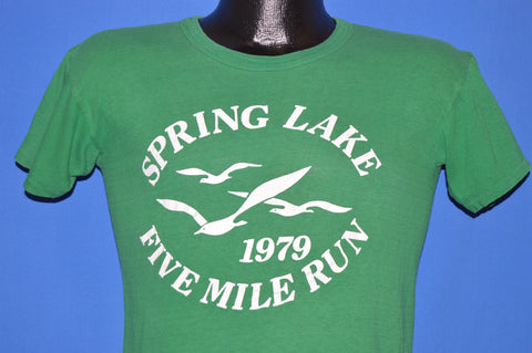 70s Spring Lake Five Mile Run 1979 t-shirt Small