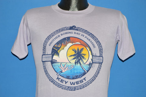 80s Key West Florida Boring Day Sunset t-shirt Small