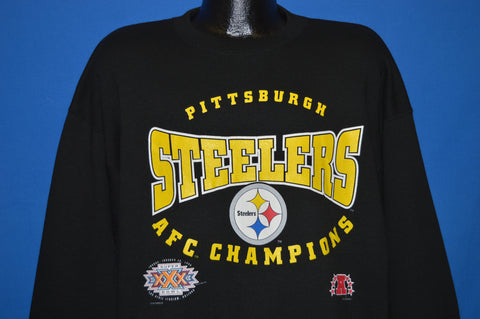 90s Pittsburgh Steelers Super Bowl XXX Sweatshirt Extra Large