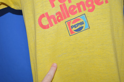 80s Take The Pepsi Challenge t-shirt Medium