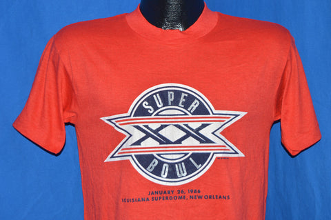80s Super Bowl XX Patriots Bears t-shirt Medium
