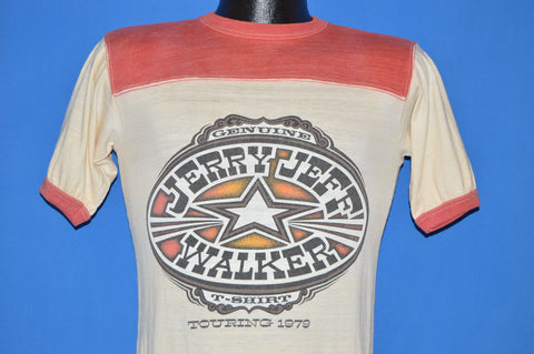 70s Jerry Jeff Walker Touring 1979 t-shirt Small