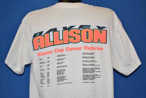 90s In Memory Of Davey Allison NASCAR t-shirt Large