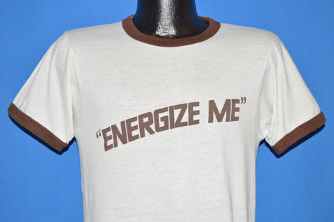 80s Energize Me Energizer Batteries Ringer t-shirt Medium