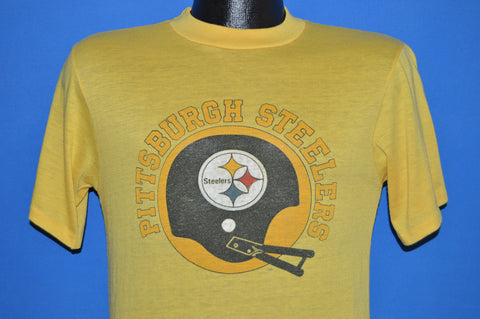 80s Pittsburgh Steelers Helmet t-shirt Small