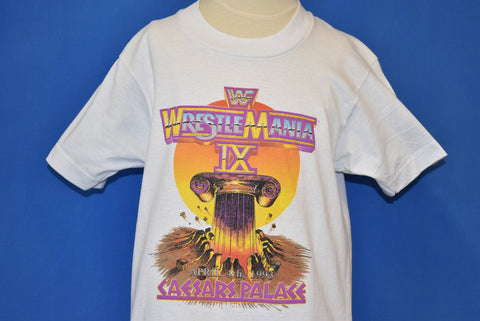 90s WWF Wrestlemania IX Caesar's Palace t-shirt Youth Large