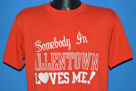 80s Someone In Allentown Loves Me Tourist t-shirt Large