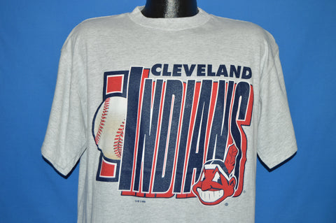 90s Cleveland Indians t-shirt Large