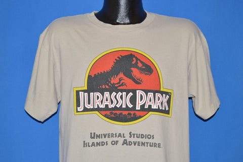 90s Jurassic Park Islands Of Adventure Orlando t-shirt Large