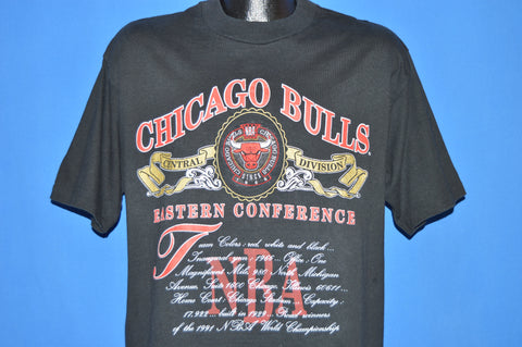 90s Chicago Bulls NBA 1991 Champions t-shirt Large