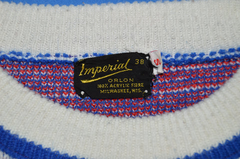 70s Hamm's Beer Since 1865 Acrylic Knit Sweater Small