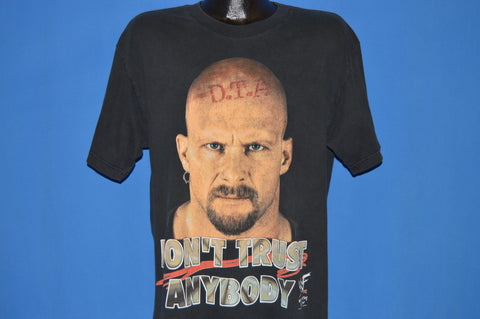 90s WWF Don't Trust Anybody DTA t-shirt Large