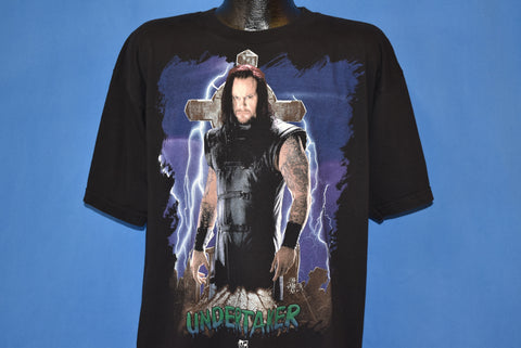 90s The Undertaker Lightning Cross t-shirt Extra Large