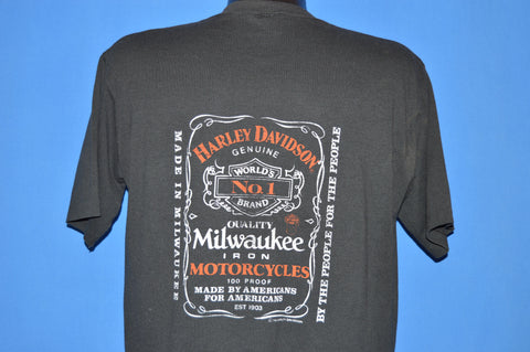 80s Harley Davidson Whisky Wildwood NJ t-shirt Large